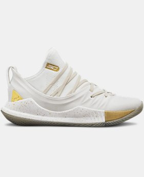 Boys' Grade School UA Curry 5 Basketball Shoes LIMITED TIME: FREE SHIPPING 2  Colors Available $140