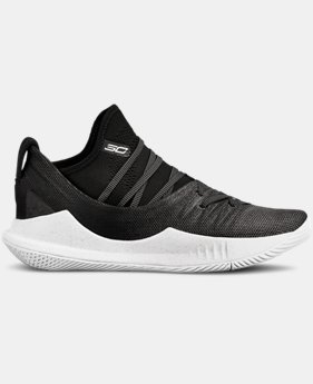 Boys' Grade School UA Curry 5 Basketball Shoes   $110