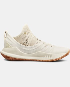 Boys' Grade School UA Curry 5 Basketball Shoes  4  Colors Available $110
