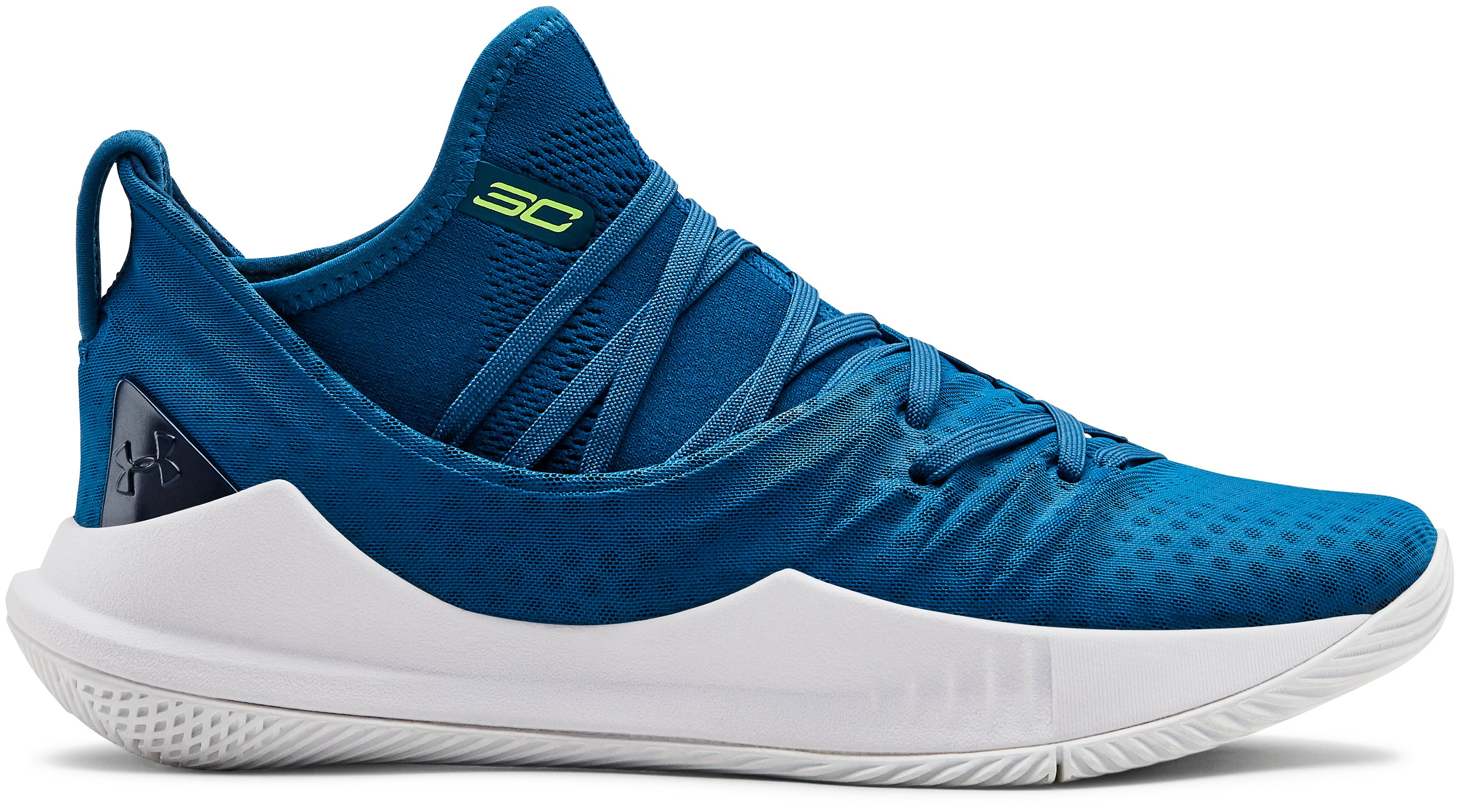 Boys' Grade School UA Curry 5 Basketball Shoes, 360 degree view