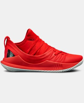 Boys' Grade School UA Curry 5 Basketball Shoes LIMITED TIME: FREE SHIPPING 4  Colors Available $140