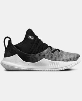 Boys' Pre-School UA Curry 5 Basketball Shoes   $80