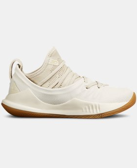 Boys' Pre-School UA Curry 5 Basketball Shoes  4  Colors Available $80