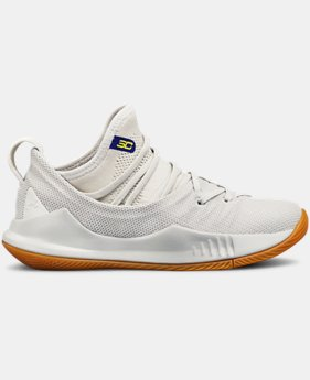 Boys' Pre-School UA Curry 5 Basketball Shoes FREE U.S. SHIPPING 2  Colors Available $80