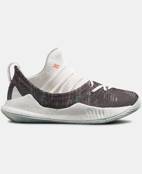 New Arrival  Boys' Pre-School UA Curry 5 Basketball Shoes  1  Color Available $80