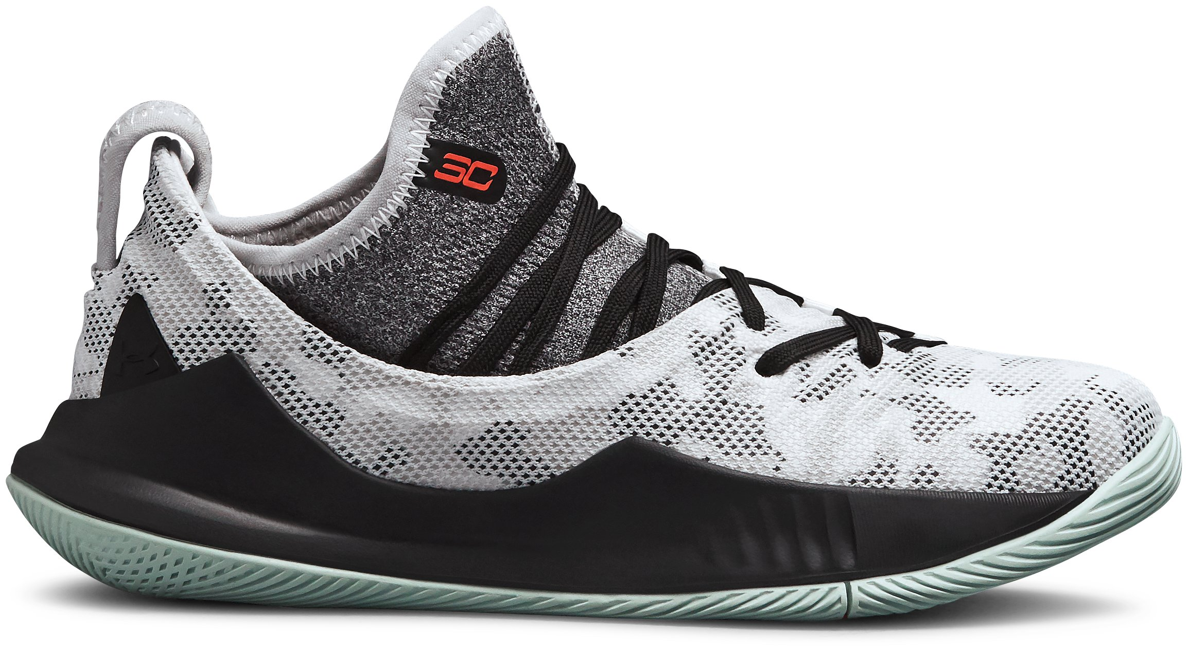 Boys' Pre-School UA Curry 5 Basketball Shoes, 360 degree view