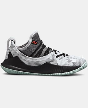 Boys' Pre-School UA Curry 5 Basketball Shoes  6  Colors Available $80