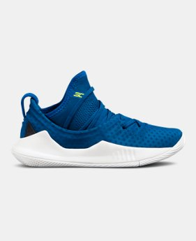 100fa8c3994408 Pre-School UA Curry 5 Basketball Shoes 1 Color Available  100