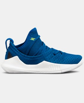 Boys' Pre-School UA Curry 5 Basketball Shoes  5  Colors Available $100