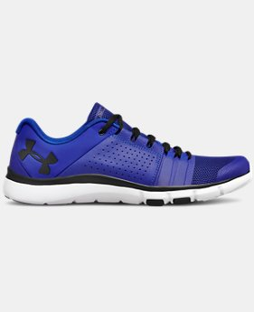 New Arrival  Men's UA Strive 7 Running Shoes  1  Color Available $90