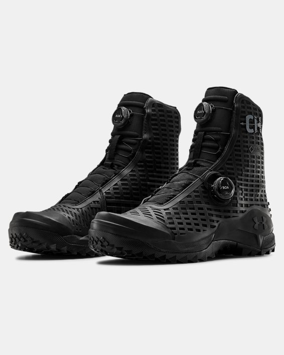 Men's UA CH1 GORE-TEX® Hunting Boots, Black, pdpMainDesktop image number 3