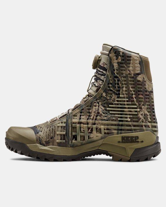 Men's UA CH1 GORE-TEX® Hunting Boots, Brown, pdpMainDesktop image number 1