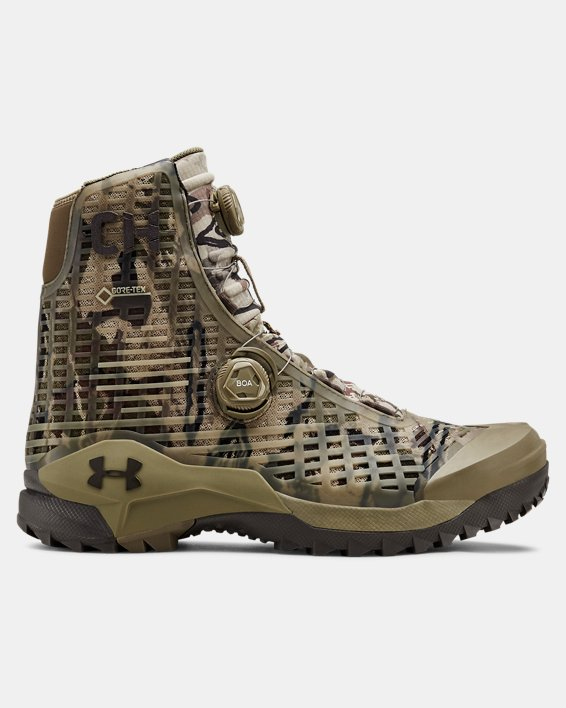 Men's UA CH1 GORE-TEX® Hunting Boots, Brown, pdpMainDesktop image number 0