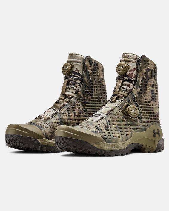 Men's UA CH1 GORE-TEX® Hunting Boots, Brown, pdpMainDesktop image number 3