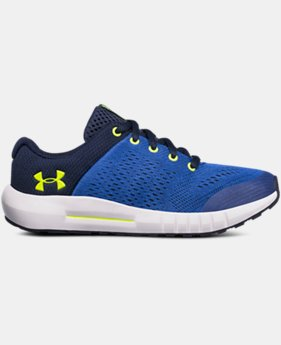 Boys' Pre-School UA Pursuit  1  Color Available $55