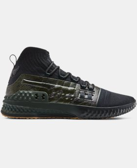 New Arrival Men's UA Project Rock 1 Training Shoes  3  Colors Available $120