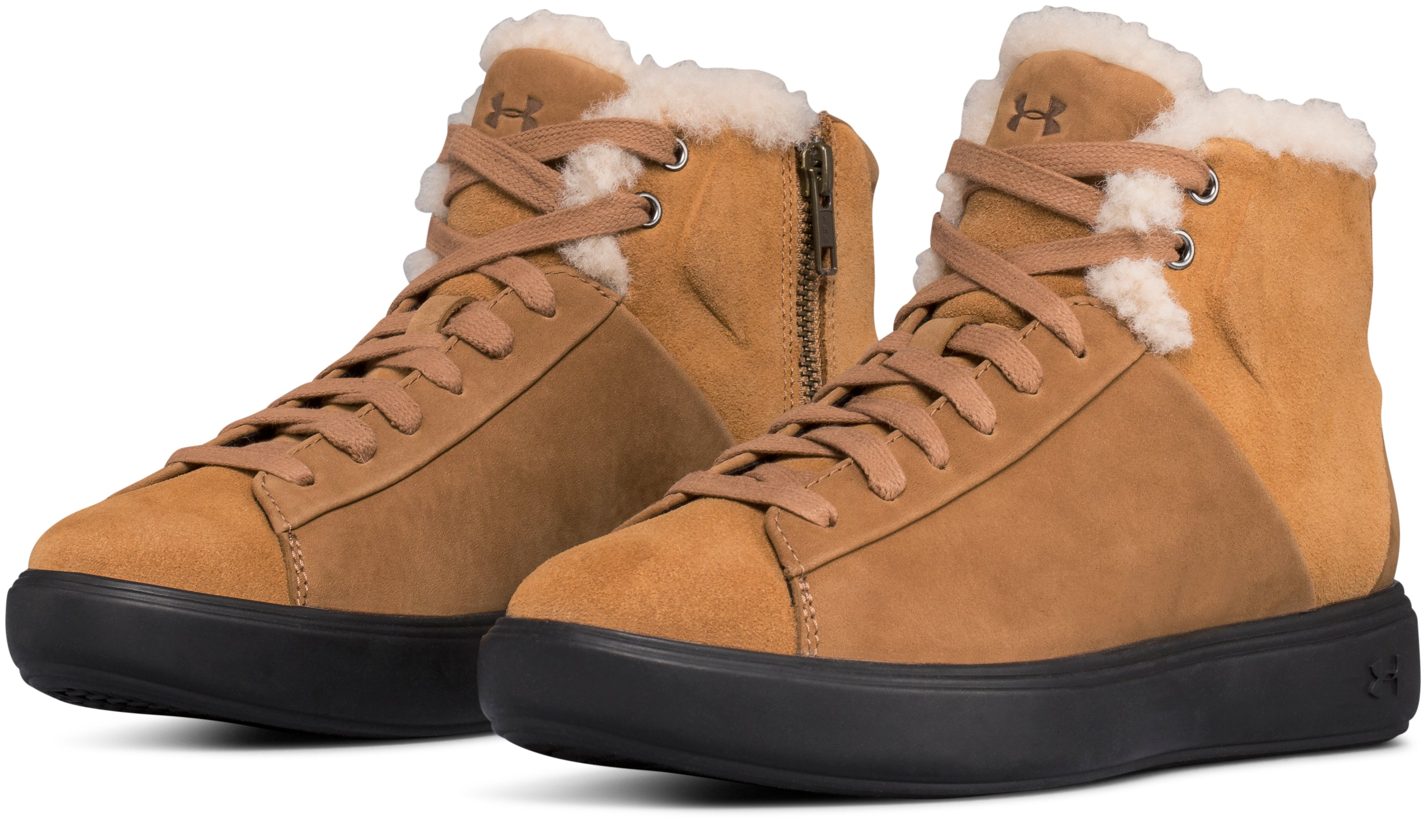 Women's UAS Capeside Shearling Mid, UAS BROWN SUGAR,