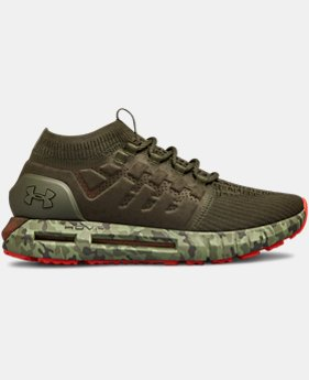 New Arrival Men's UA HOVR Phantom CAMO Shoes  1  Color Available $130