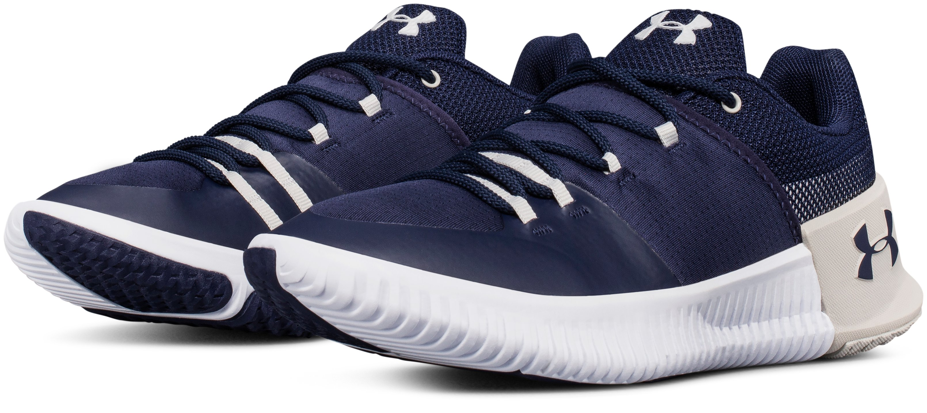 Women's UA Team Ultimate Speed Training Shoes, Midnight Navy,