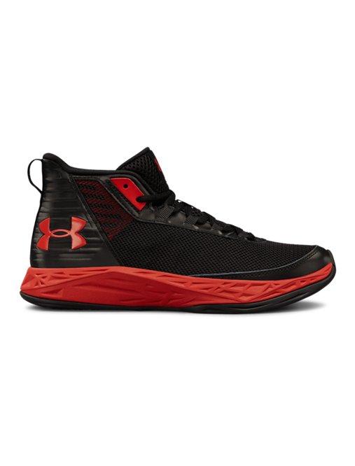 Boys' Grade School UA Jet 2018 Basketball Shoes