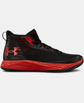 Best Seller Boys' Grade School UA Jet 2018 Basketball Shoes  5  Colors Available $55