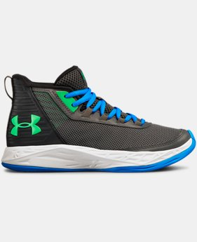 Boys' Grade School UA Jet 2018 Basketball Shoes  7  Colors Available $70