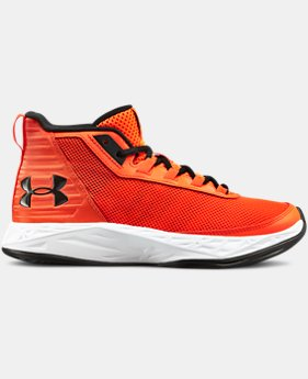 Boys' Grade School UA Jet 2018 Basketball Shoes  6  Colors Available $55