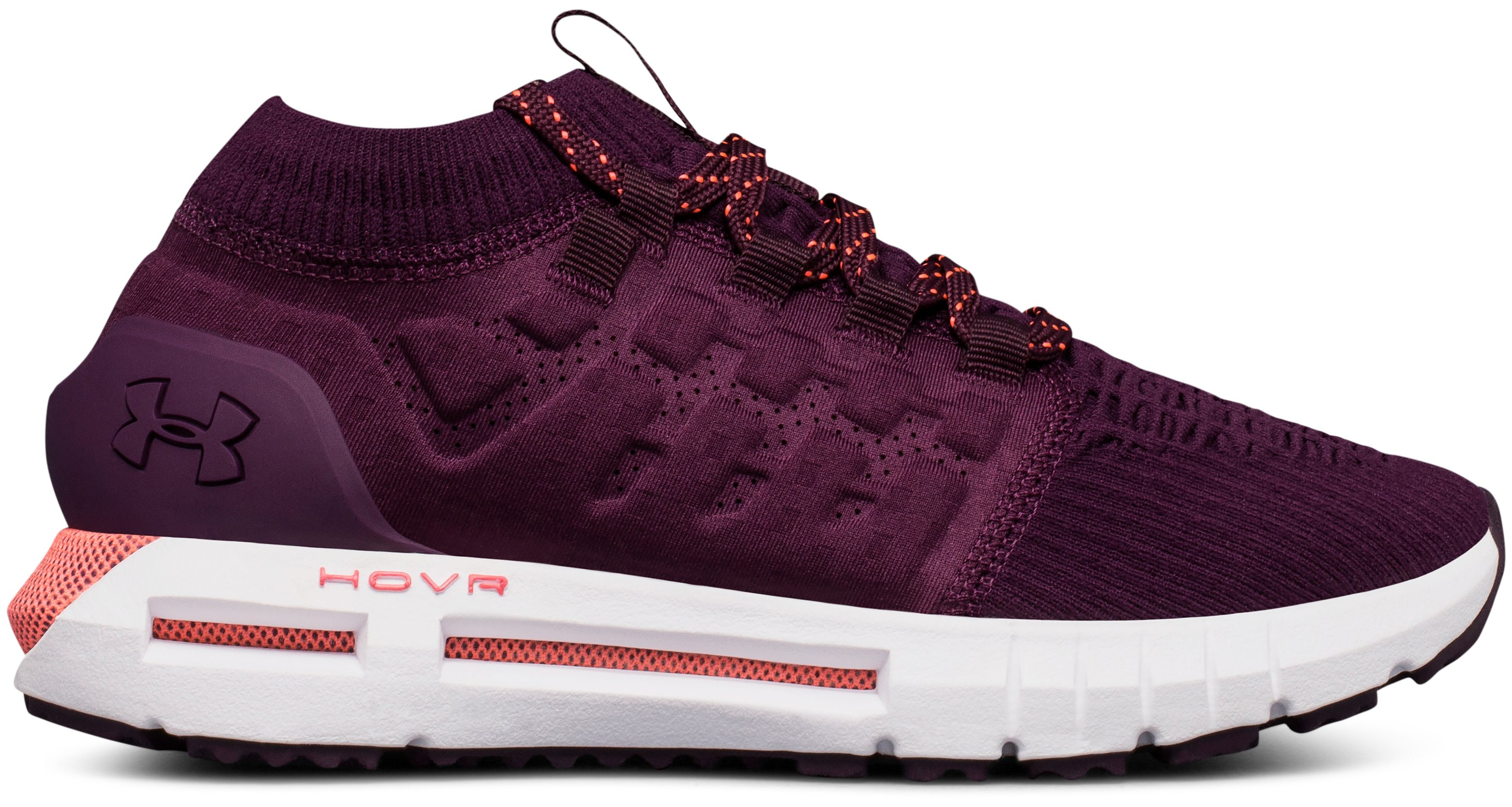 Women's UA HOVR™ Phantom Running Shoes, MERLOT,