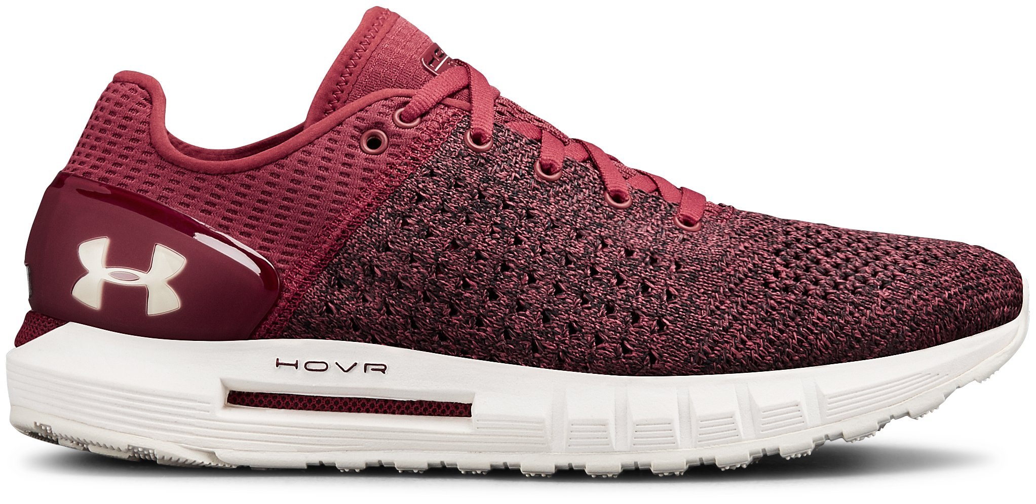UA W HOVR Sonic NC, Brick Red, zoomed