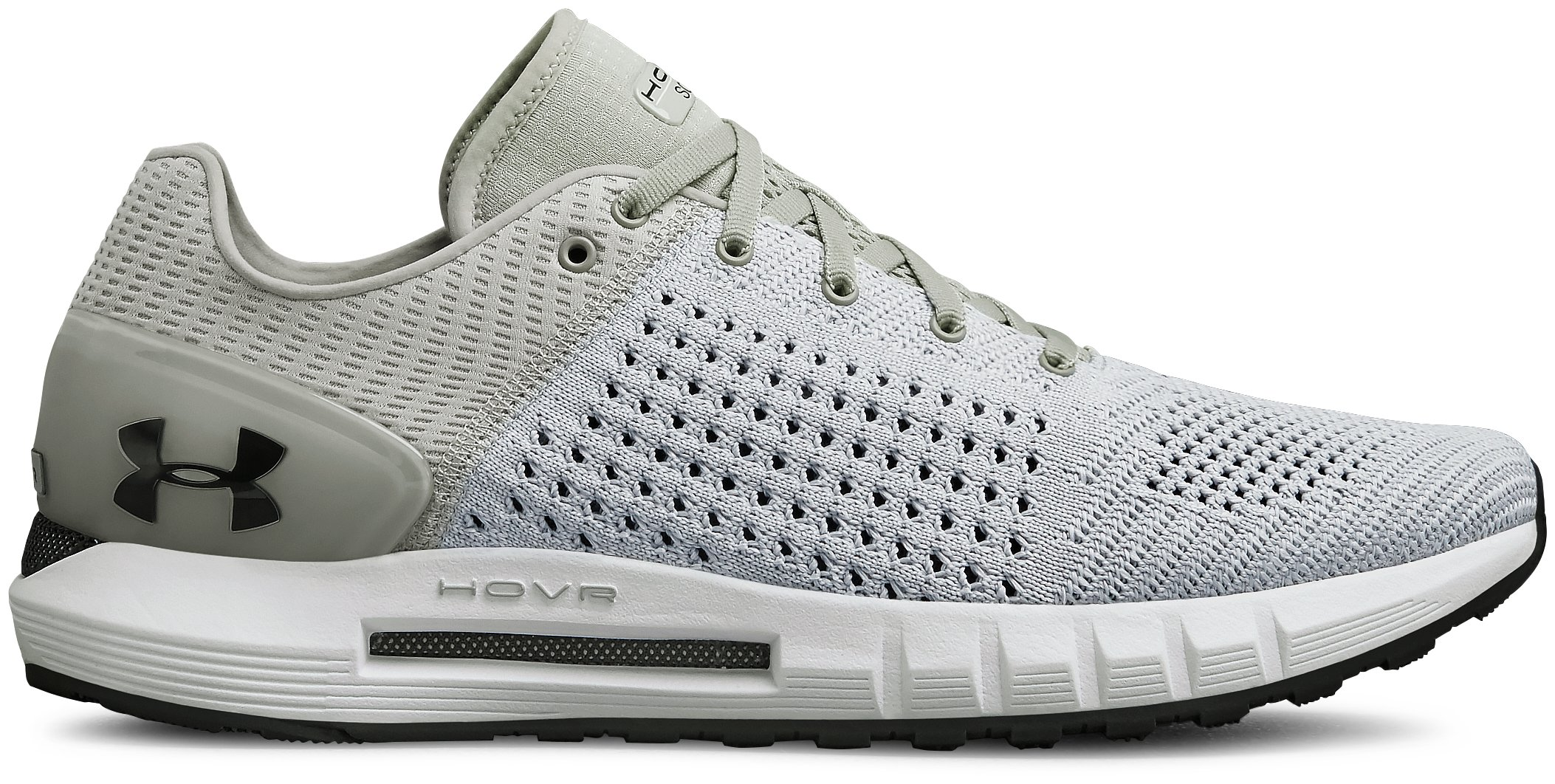UA HOVR Sonic NC, White, zoomed