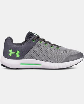 Boys' Grade School UA Pursuit Wide Running Shoes  3  Colors $60