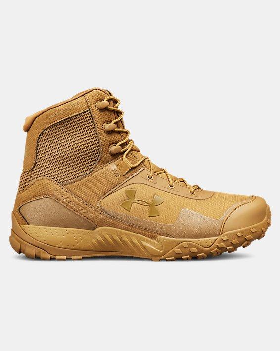 Men's UA Valsetz RTS 1.5 Tactical Boots, Brown, pdpMainDesktop image number 0