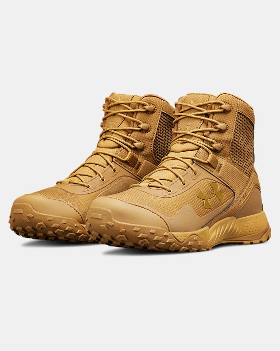 Men's UA Valsetz RTS 1.5 Tactical Boots, Brown, pdpMainDesktop image number 4