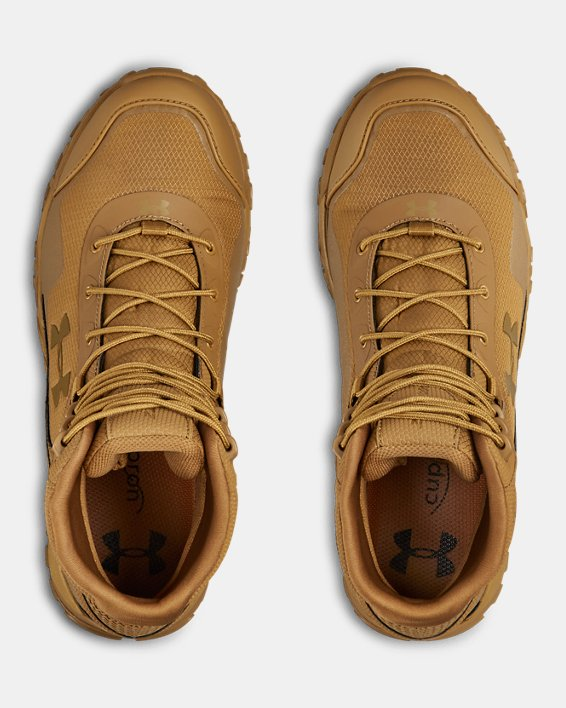 Men's UA Valsetz RTS 1.5 Tactical Boots, Brown, pdpMainDesktop image number 3