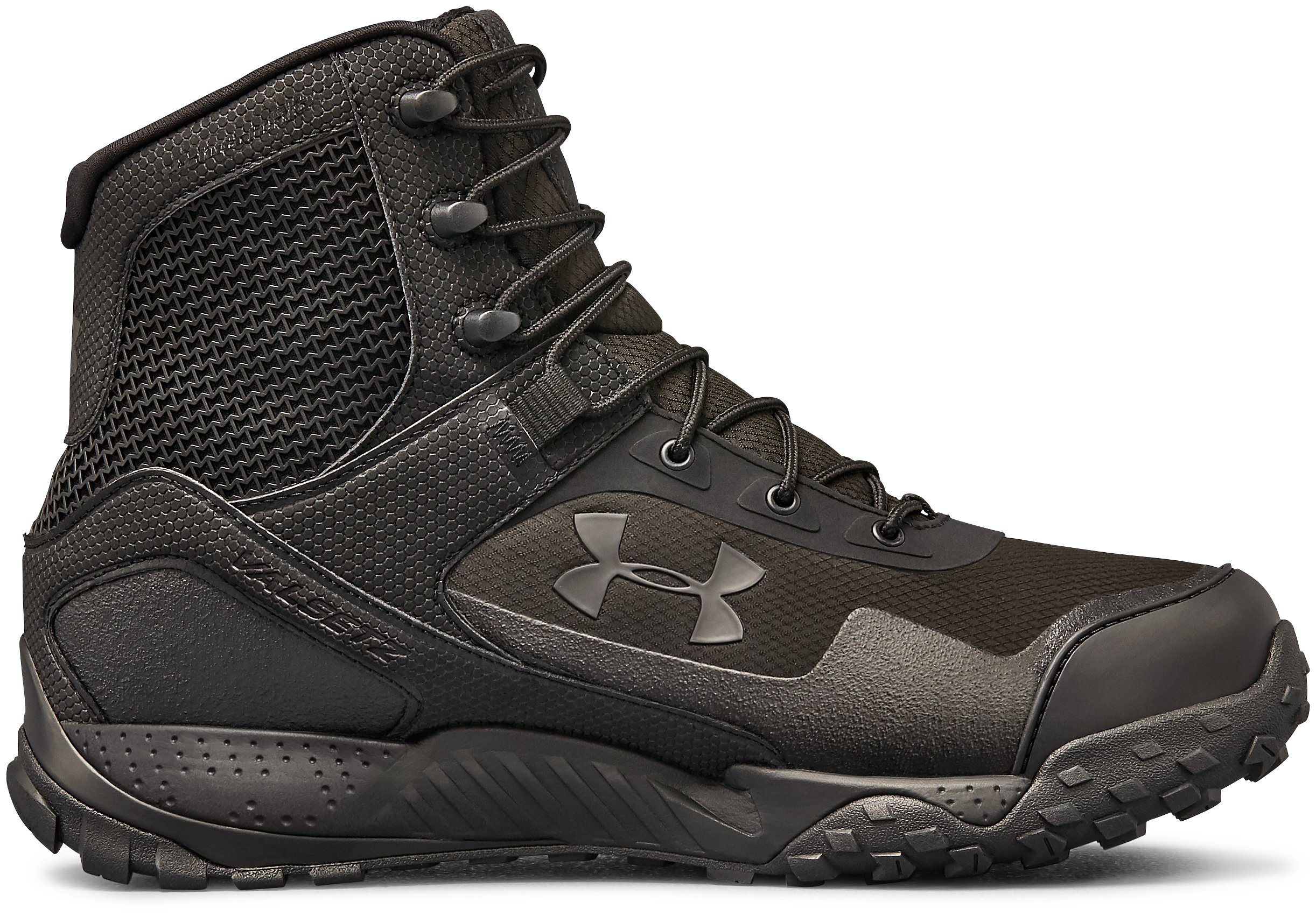 Men's UA Valsetz RTS 1.5 Wide 4E Tactical Boots, Black , zoomed