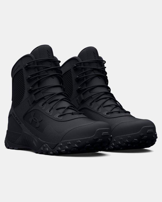 Men's UA Valsetz RTS 1.5 Wide 4E Tactical Boots, Black, pdpMainDesktop image number 4