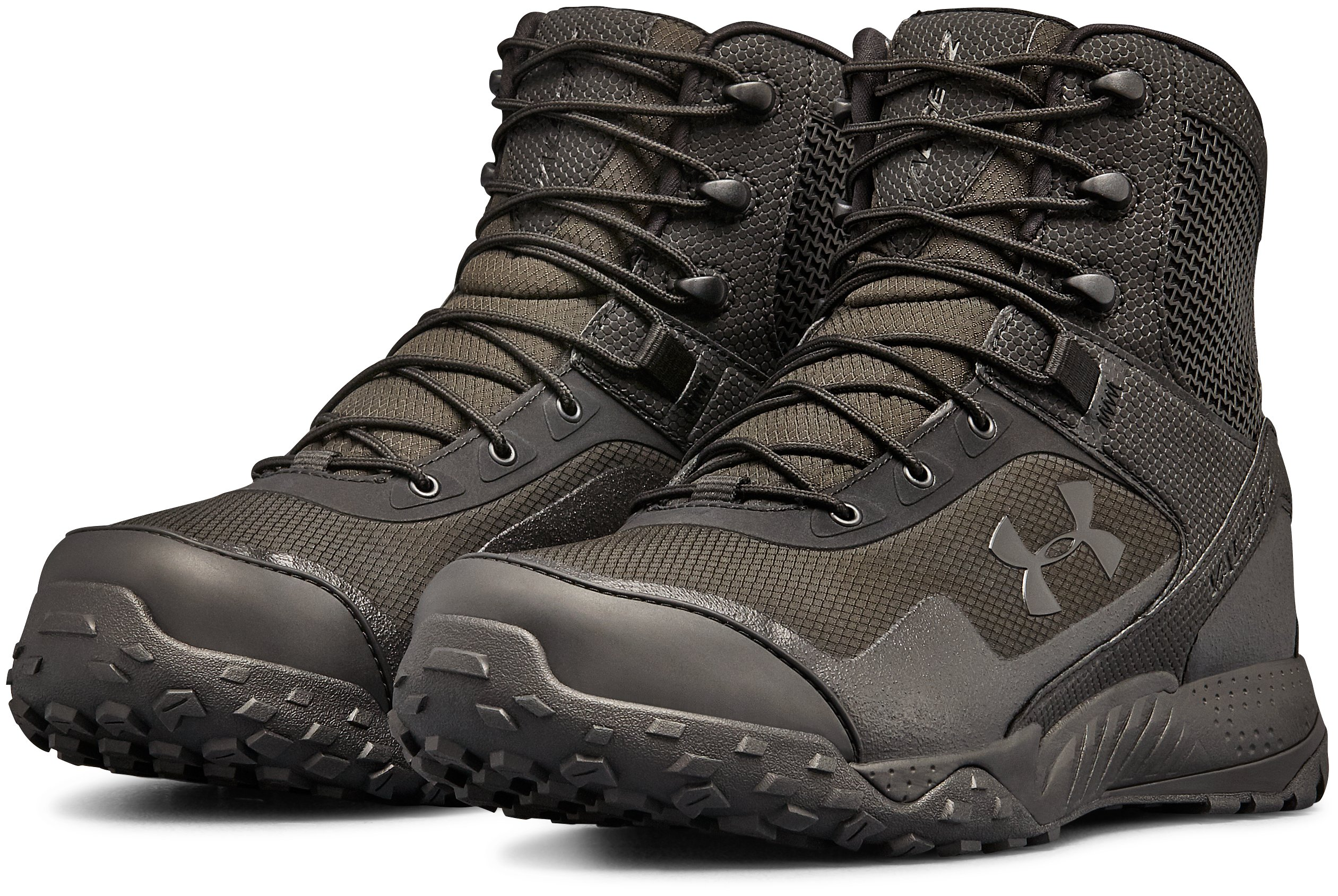 Men's UA Valsetz RTS 1.5 Wide 4E Tactical Boots, Black ,