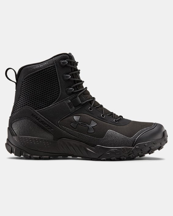 Men's UA Valsetz RTS 1.5 Side Zip Tactical Boots, Black, pdpMainDesktop image number 0