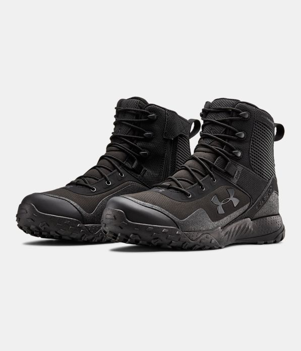 Men S Ua Valsetz Rts 1 5 Side Zip Tactical Boots Under