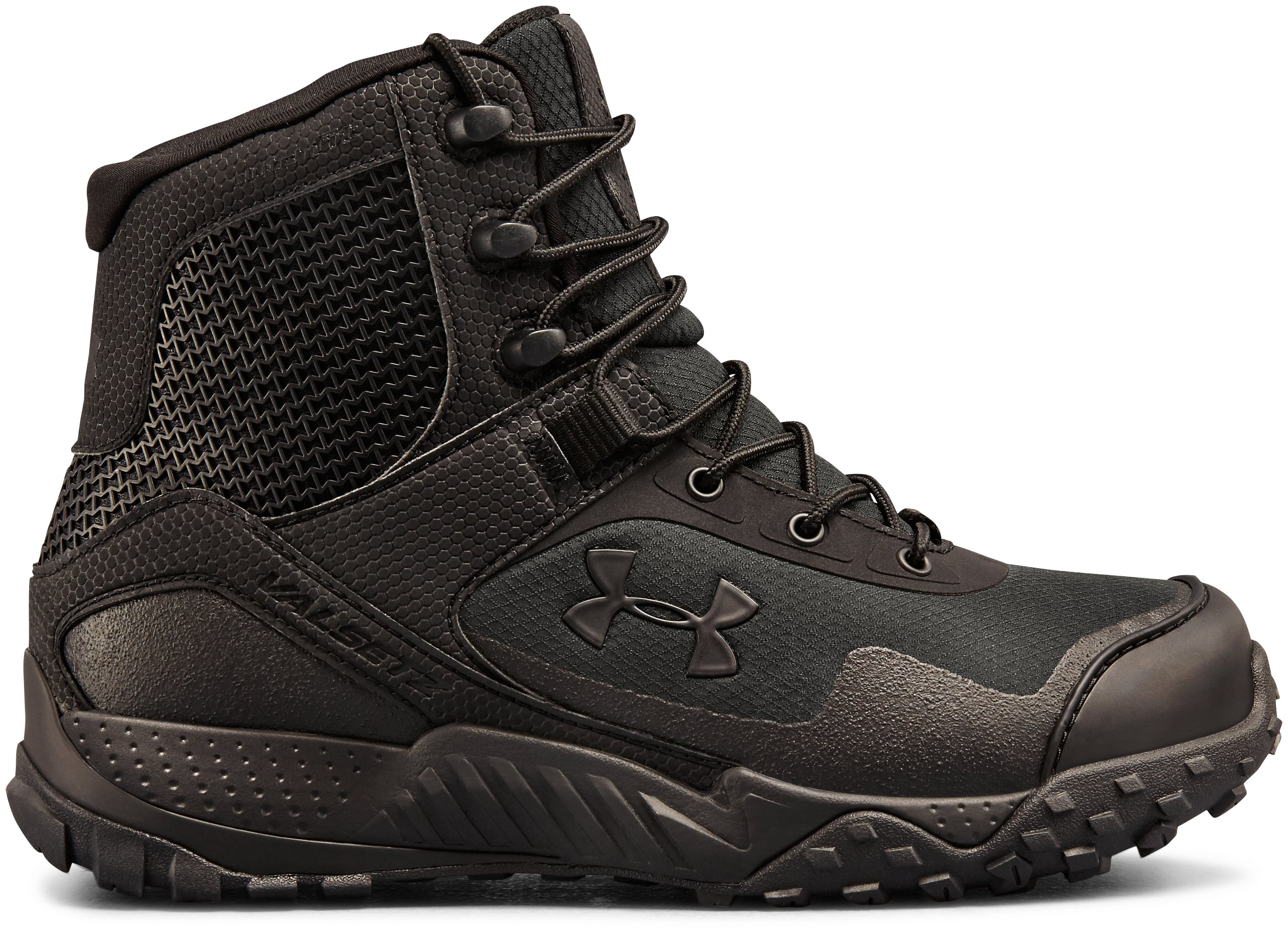 Women's UA Valsetz RTS 1.5 Tactical Boots, Black , zoomed