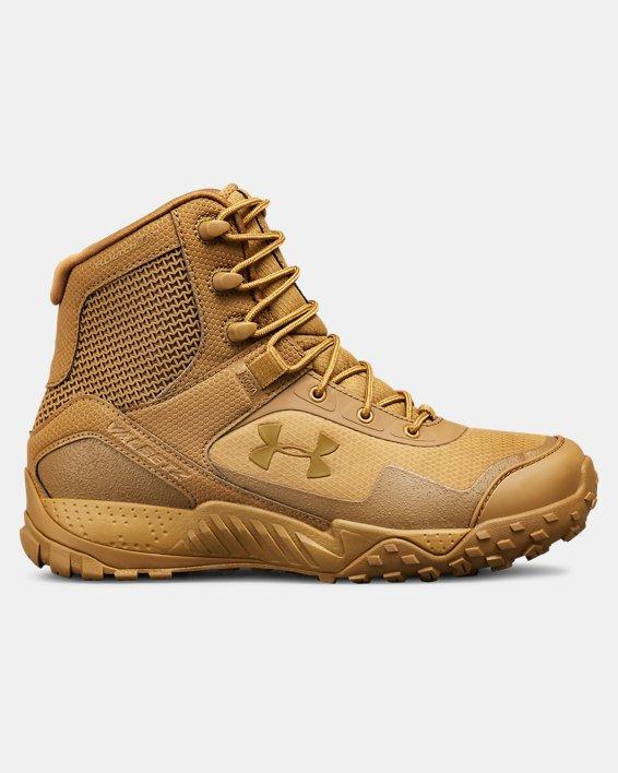 Women's UA Valsetz RTS 1.5 Tactical Boots, Brown, pdpMainDesktop image number 0
