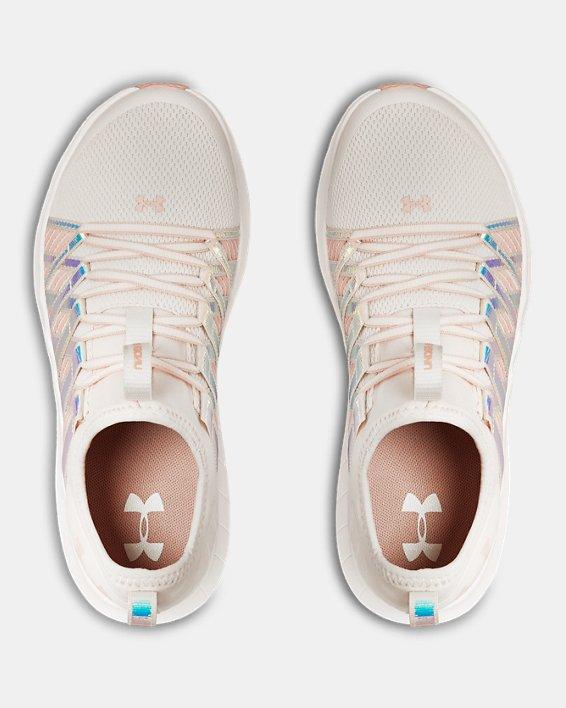 Girls' Grade School UA Infinity HG Shoes, Pink, pdpMainDesktop image number 3