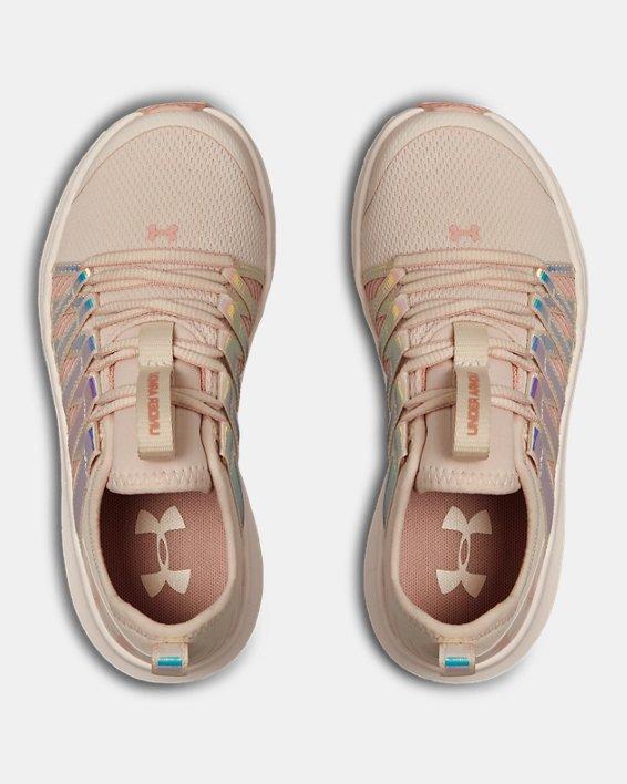 Girls' Pre-School UA Infinity HG Shoes, Pink, pdpMainDesktop image number 3
