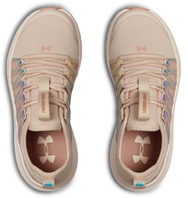 New Girl/'s Pre Under Armour  Surge Pre School Sneakers Pink Rose