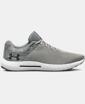 Men's UA Micro G® Pursuit Fiber Opt Running Shoes  2  Colors Available $35 to $60