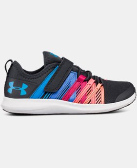 New Arrival Girls' Pre-School UA Infinity AC Wide  1  Color $58