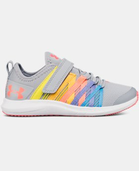Girls' Pre-School UA Infinity AC Wide  2  Colors Available $58