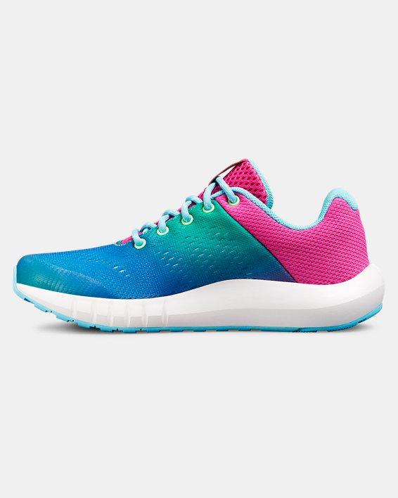 Girls' Pre-School UA Pursuit Prism Shoes, Blue, pdpMainDesktop image number 1