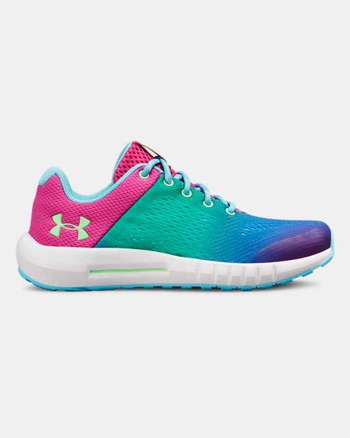 Girls' Pre-School UA Pursuit Prism Shoes