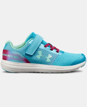 Girls' Pre-School UA Surge RN Prism  1  Color Available $52